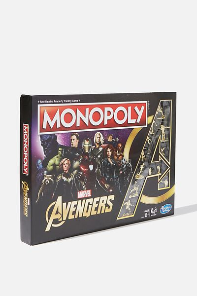 Monopoly Board Game, LCN DIS AVENGERS NEW