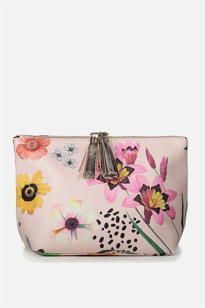 Florence Cosmetic Bag, FLORAL PRINT