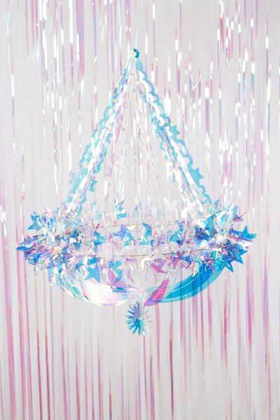 Hanging Decoration Large, IRIDESCENT CHANDALIER