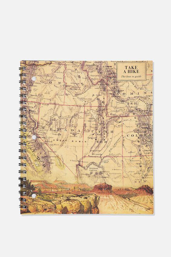 College Ruled Campus Notebook - V, TAKE A HIKE