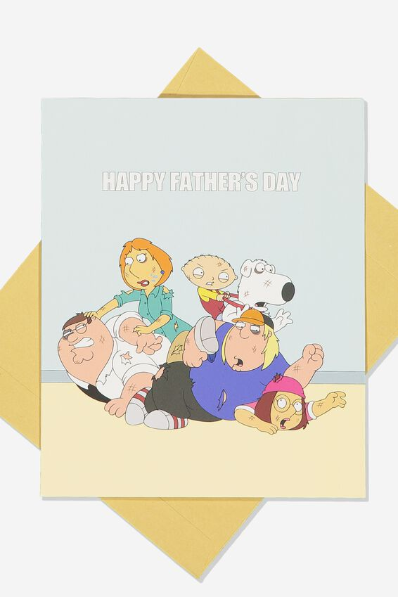 Family Guy Fathers Day Card, LCN FOX FAMILY GUY