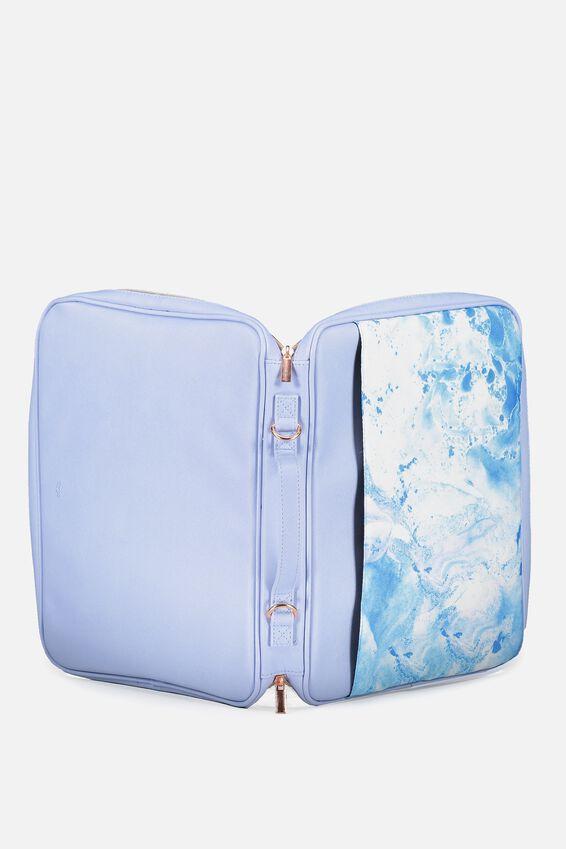 Mobile Laptop Folio, BLUE MARBLE