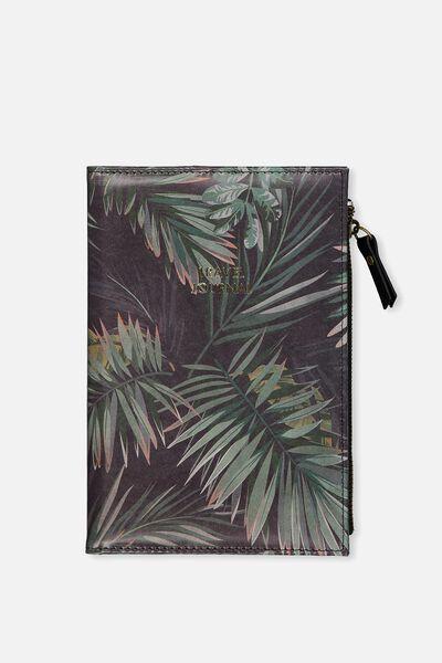 Travel Zip Journal, PALMS