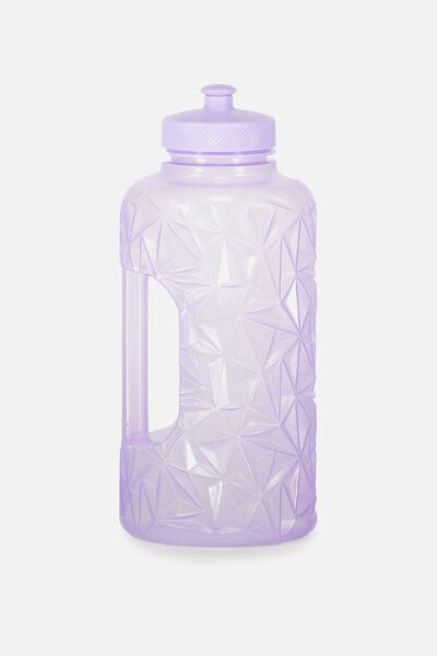 Faceted Drink Bottle, LILAC