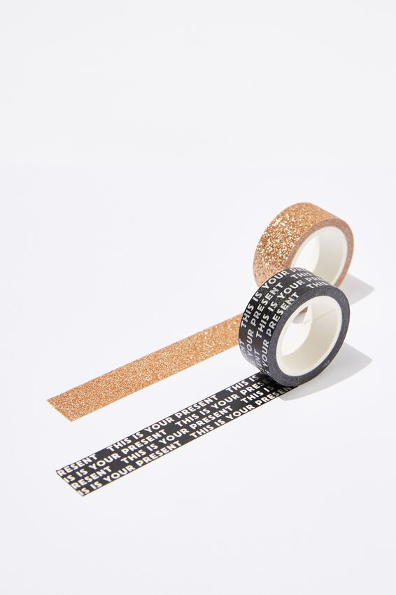 Washi Tape 2Pk, THIS IS YOUR PRESENT COMBO