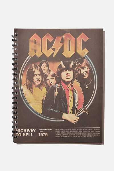 A4 Campus Notebook Recycled, LCN PER ACDC