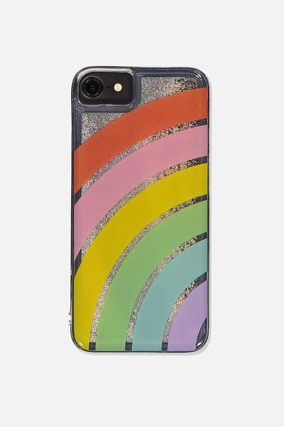Shake It Phone Case Universal SE, 6,7,8, RAINBOW
