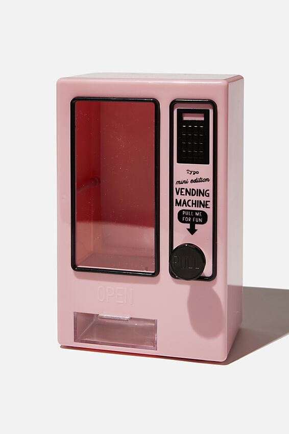 Mini Vending Machine, PALE PINK