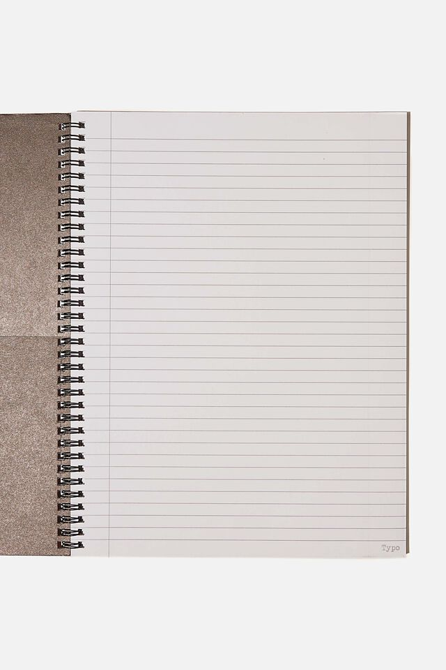A4 Spinout Notebook Recycled, ACT LIKE A LADY