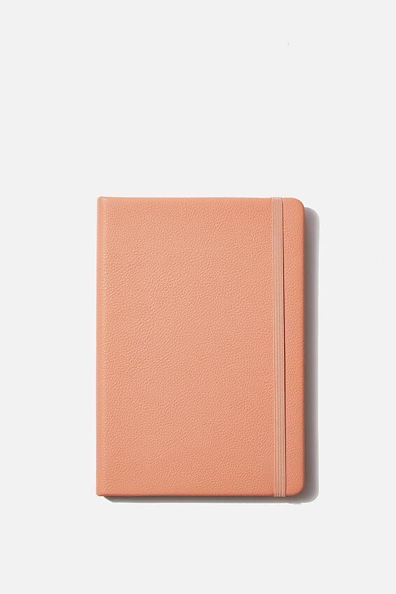 "A5 Dot Buffalo Journal (8.27"" x 5.83""), PEACH"