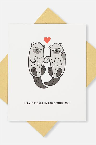Love Card, OTTERLY IN LOVE