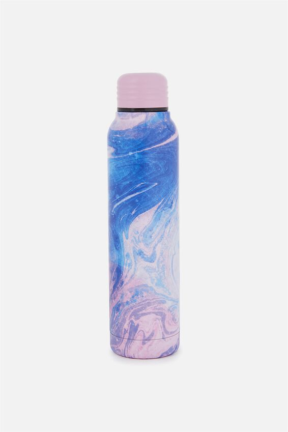 Small Metal Drink Bottle, MERMAGIC MARBLE PRINT