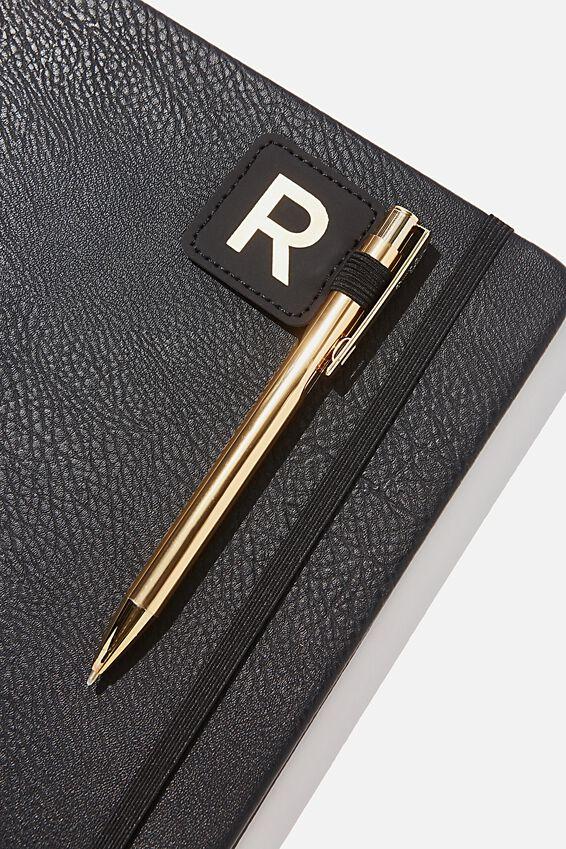 Pen Loop Sticker, BLACK R