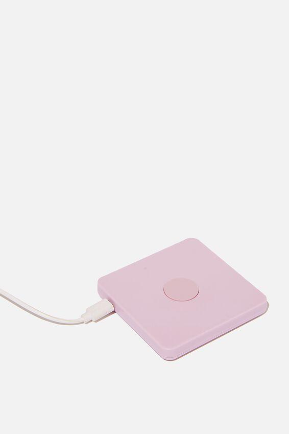 Wireless Charging Pad, PINK