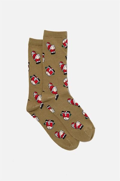 Socks, SANTA BUTT!