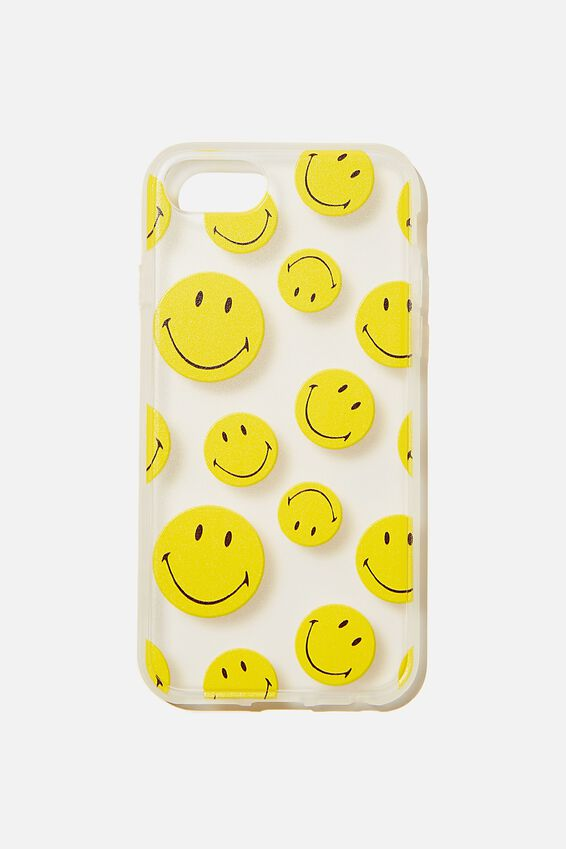 Protective Phone Case 6, 7, 8, SE, LCN SMI SMILEY YDG