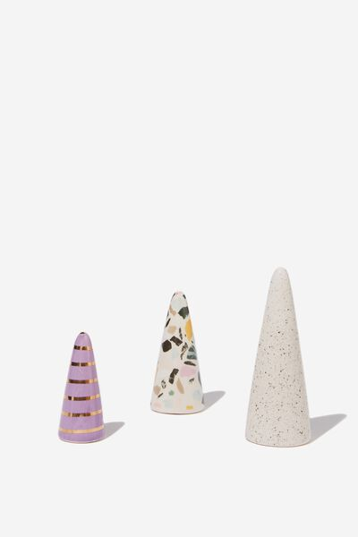 Jewellery Cones, TERRAZZO MULTI