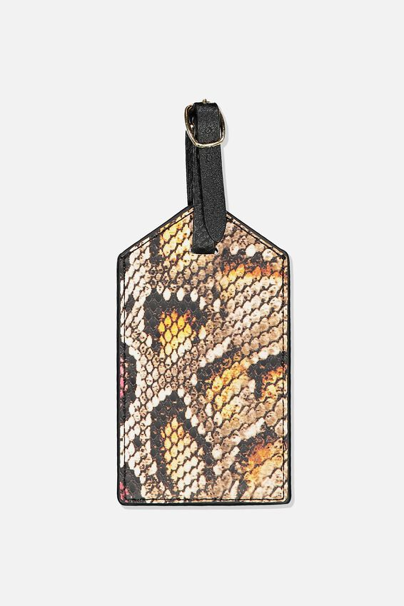 Luggage Tag, SNAKE MULTI