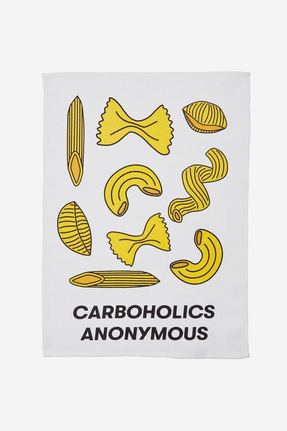 Tea Towel, CARBAHOLICS