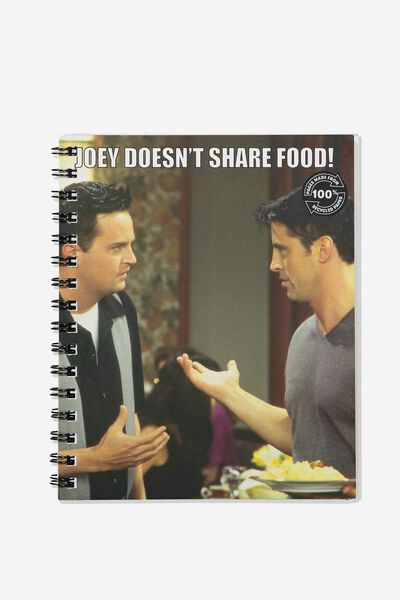 A5 Campus Notebook Recycled, LCN WB FRIENDS JOEY DOESNT SHARE