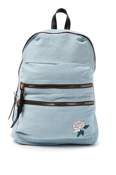 Berlin Backpack, CHAMBRAY