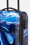 Tsa Small Suitcase, MOON MARBLE