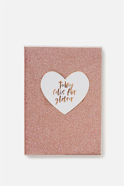 Undated A5 Pvc Planner, ROSE GOLD