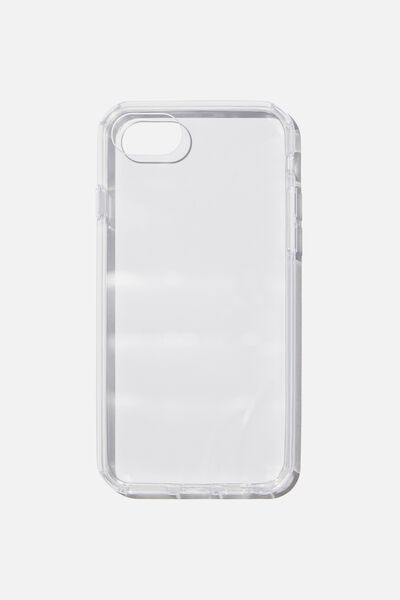 Snap On Protective Phone Case 6, 7, 8, CLEAR GLASS