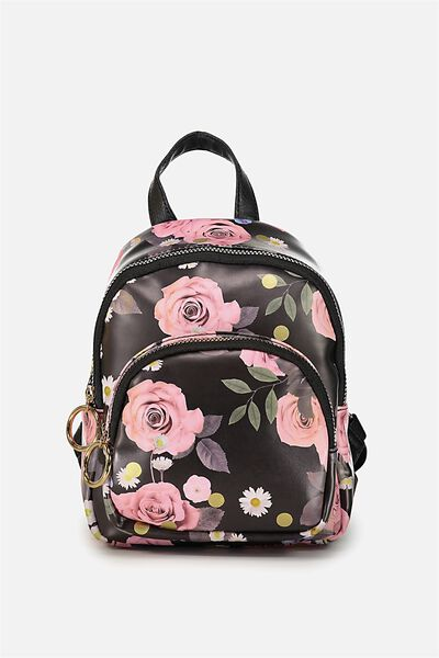 Mini Madrid Backpack, POLKA FLORAL