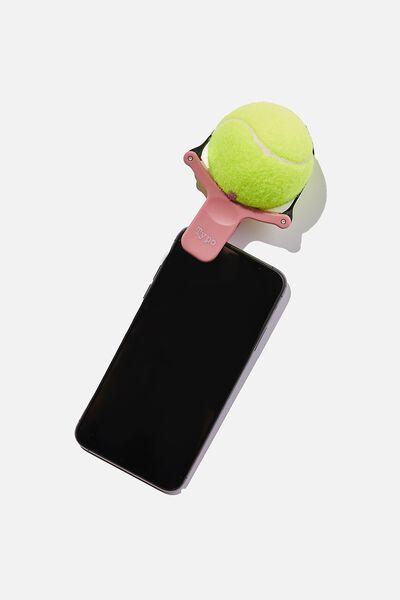 Puppy Ball Selfie Clip, DUSTY LILAC