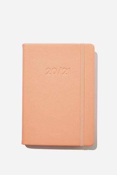 2020 21 A5 Daily Buffalo Diary, PEACH