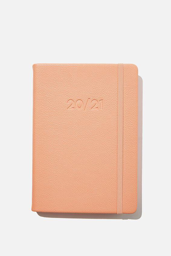 2020 21 A5 Daily Buffalo Diary, PEACH