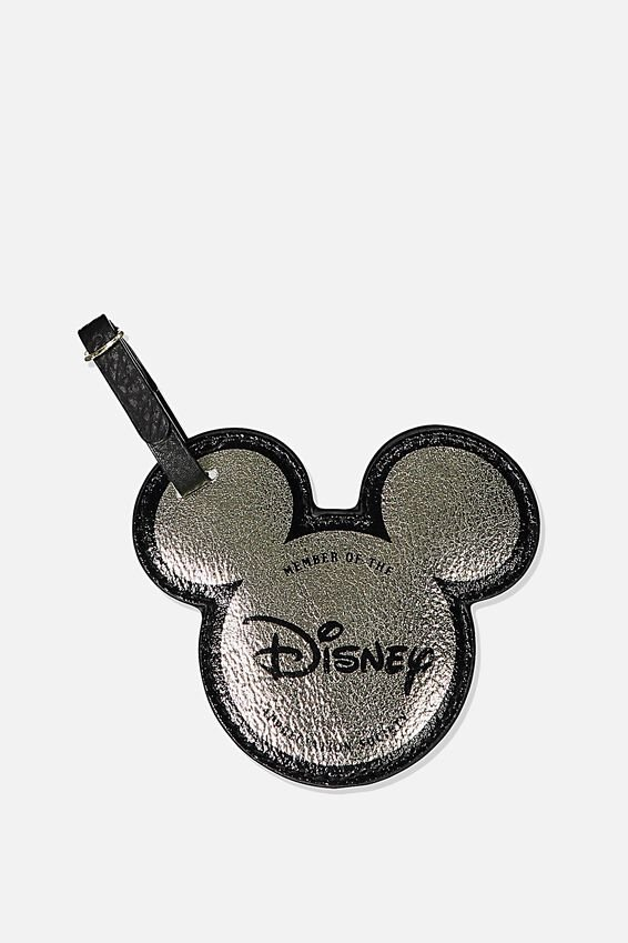 Disney Shape Shifter Luggage Tag, LCN DIS CL SOCIETY MEMBER