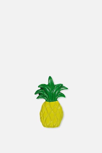 Novelty Resin Magnets, PINEAPPLE