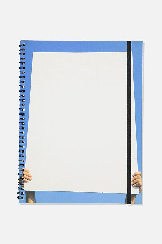 A4 Spinout Notebook Recycled, PEOPLE POWER