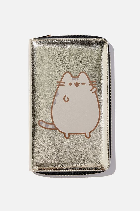 Pusheen RFID Odyssey Travel Compendium Wallet, LCN PUSHEE GOLD