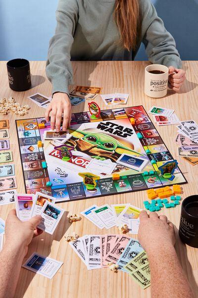 Monopoly Board Game, THE MANDALORIAN