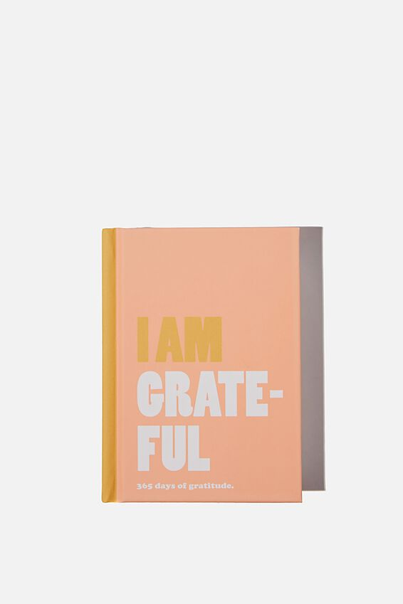 Mini Activity Journal, I AM GRATEFUL PINK