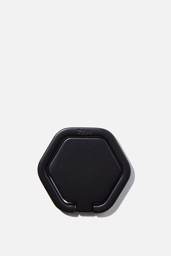 Metal Phone Ring, HEXAGON