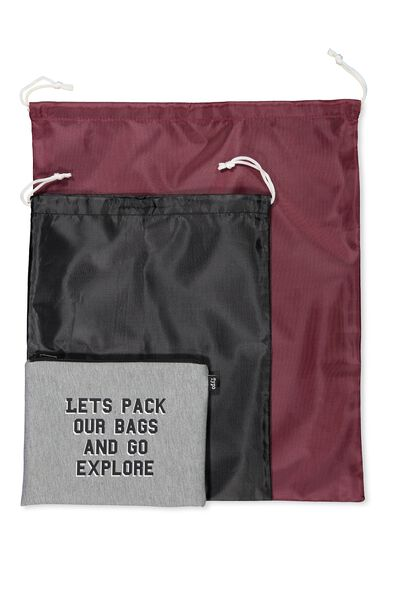 Get Organised Travel Bag, PACK OUR BAGS