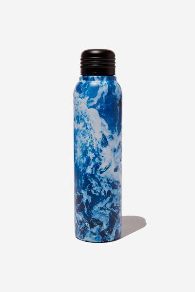 Small Metal Drink Bottle, OCEAN FOAM