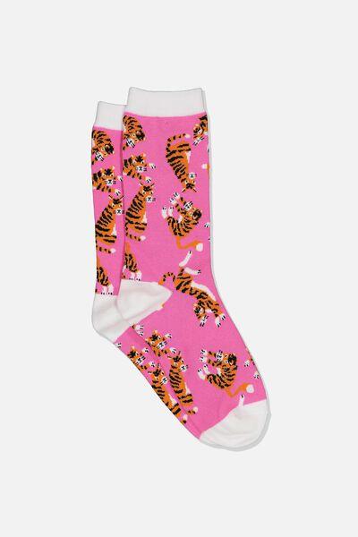 Womens Novelty Socks, GRRRRR