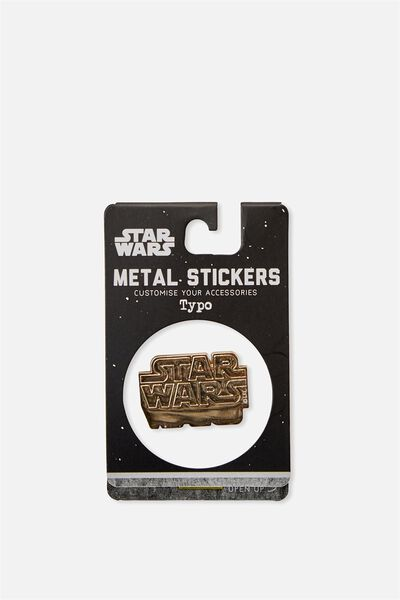 Licensed Metal Stickers, LCN STAR WARS LOGO