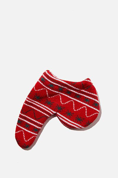 Toasty Todger, RED PATTERN