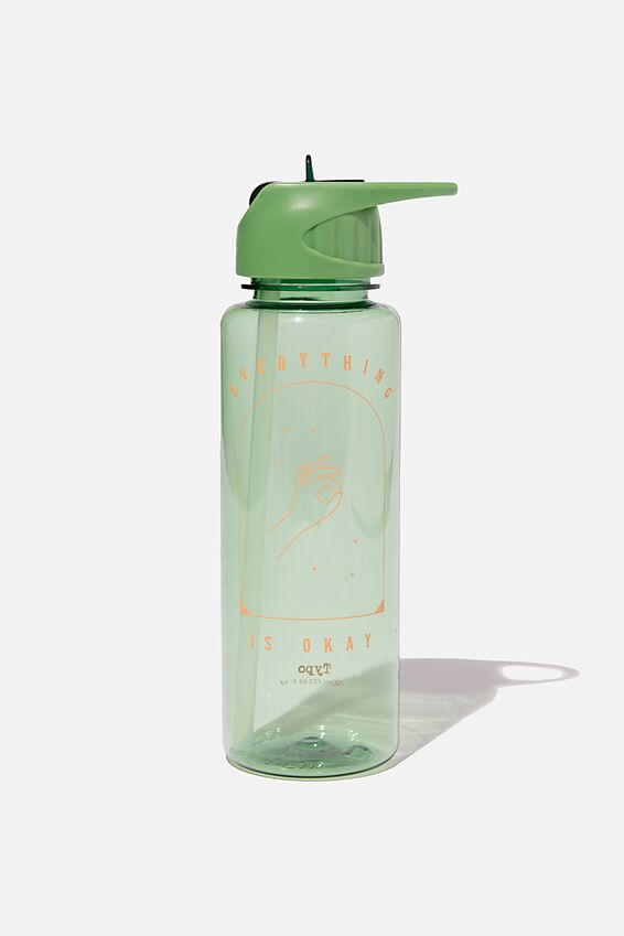 Hydrator Drink Bottle, EVERYTHING IS OKAY