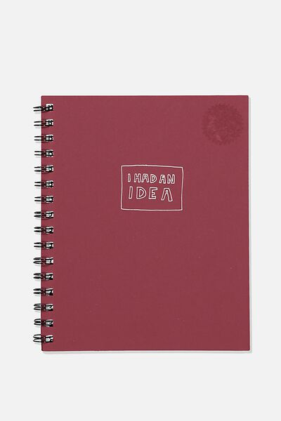 A5 Campus Notebook Recycled, I HAD AN IDEA