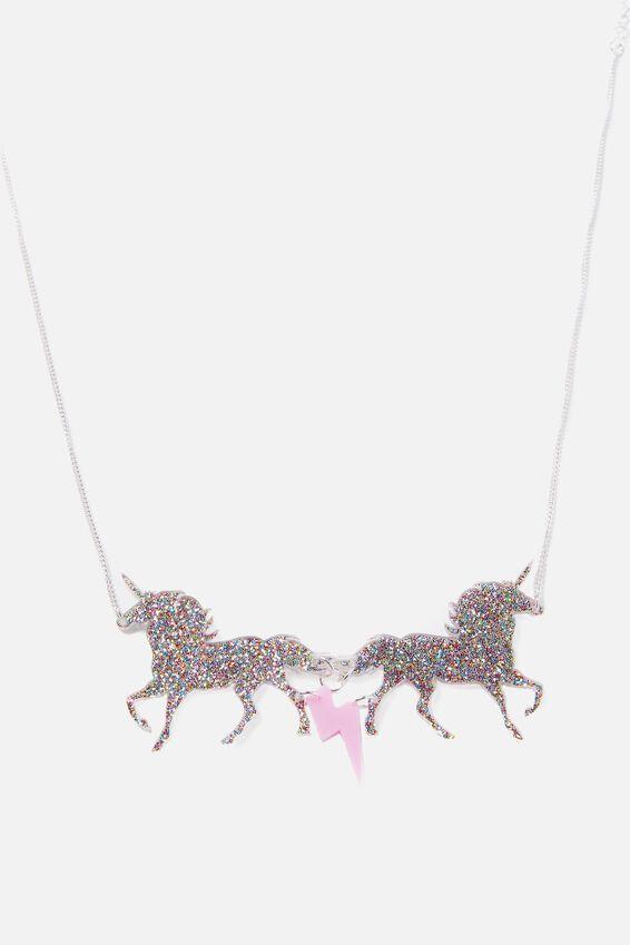 Premium Novelty Necklace, UNICORN MAGIC