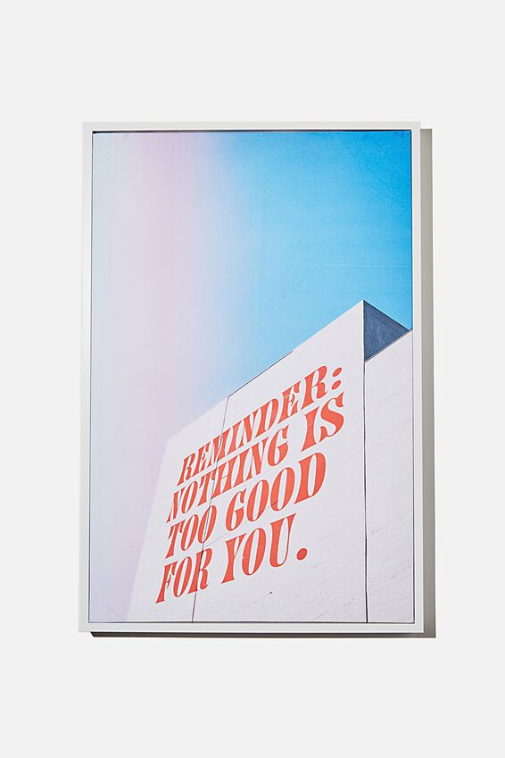 40 X 60 Canvas Art, GOOD FOR YOU