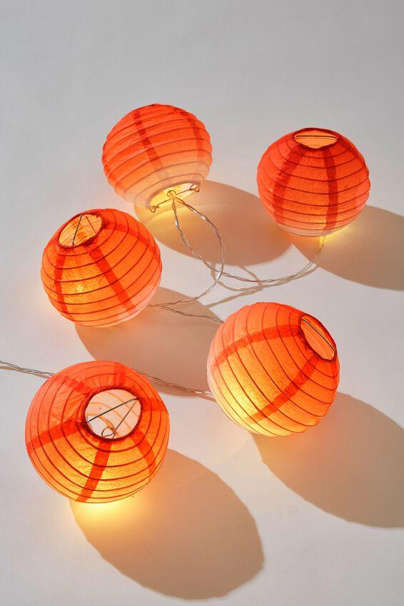 Battery Lucky Lanterns, PEACH OMBRE