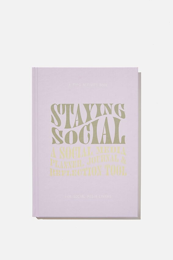 "A5 Fashion Activity Journal (8.27"" x 5.83""), STAYING SOCIAL VOL.2"